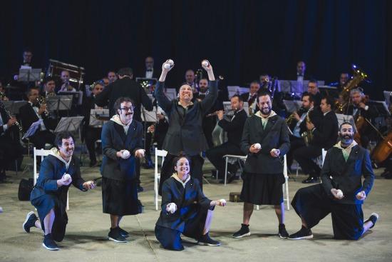 Orquestra de Malabares 1. Rubén Vilanova