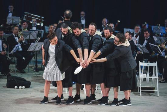 Orquestra de Malabares 12. Foto Rubén Vilanova