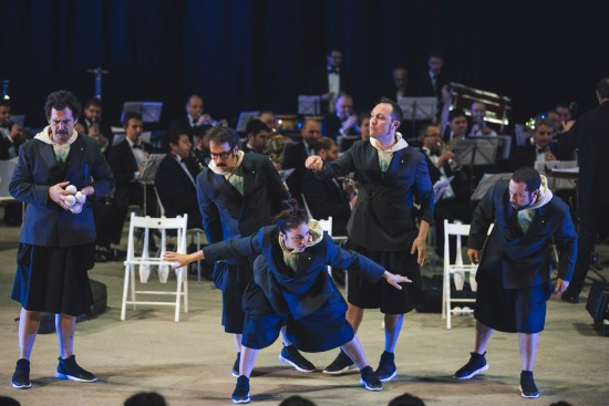Orquestra de Malabares 2. Foto Rubén Vilanova