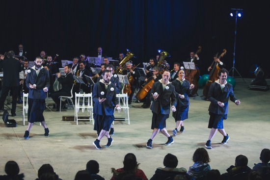 Orquestra de Malabares 4 Foto Rubén Vilanova